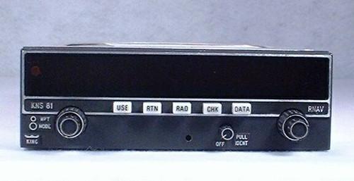 KNS-81 NAV / RNAV / Glideslope Receiver Closeup