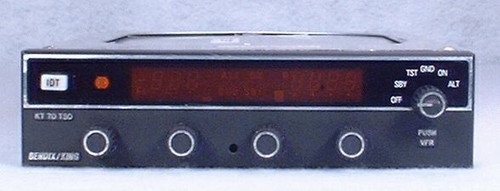 KT-70 Mode S Transponder Closeup