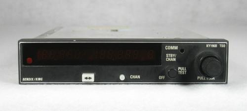 KY-196B COMM Transceiver (with 8.33 kHz tuning) Closeup