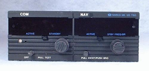 MK-12E NAV/COMM with Glideslope Closeup
