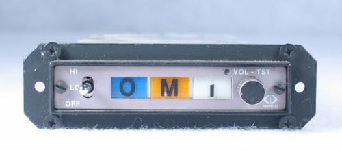MKR-101 Marker Beacon Receiver Closeup