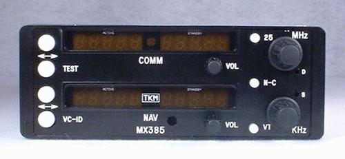 MX-385 NAV/COMM Closeup