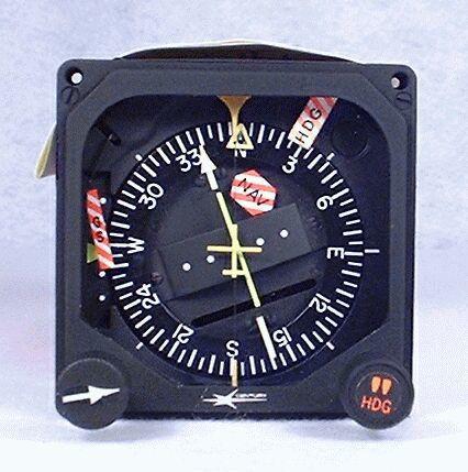 NSD-360A Slaved Compass System (HSI) Closeup