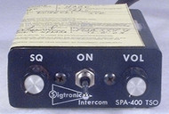 SPA-400 Intercom Closeup