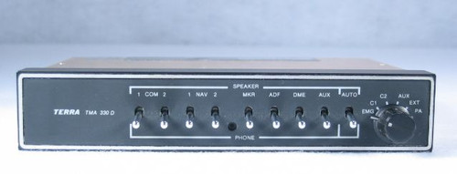 TMA-330D Audio Panel and Intercom Closeup