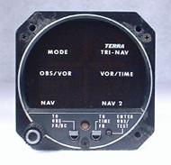 TRI-NAV VOR / LOC / Glideslope Indicator Closeup