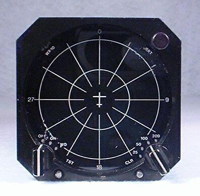 WX-10 Stormscope Closeup