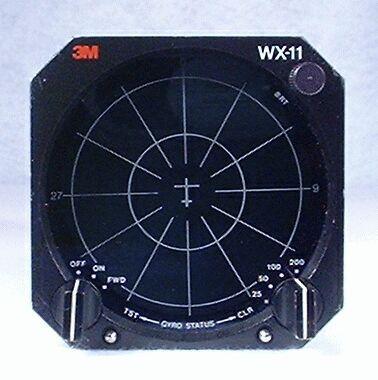 WX-11 Stormscope Closeup