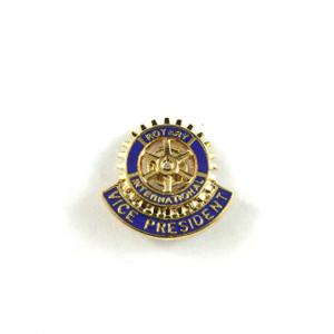 Rotary Vice President Lapel Pin