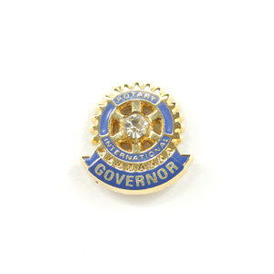 Rotary District Governor Lapel Pin