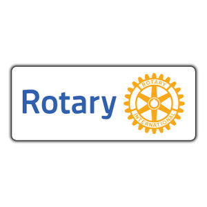 Rotary 300mm Masterbrand Rectangular Sticker