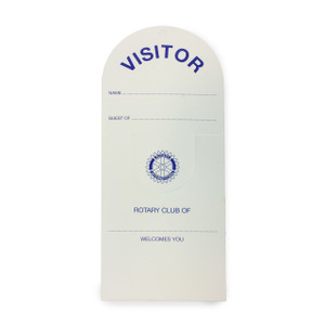 Rotary Visitor Guest Cards (100 pack)