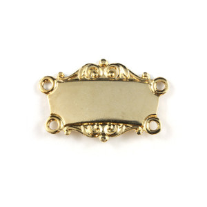 Gold Collar Bar - Scrolled