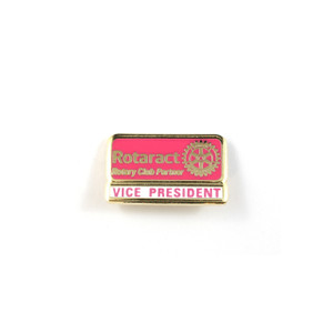 Rotaract Vice President Lapel Pin