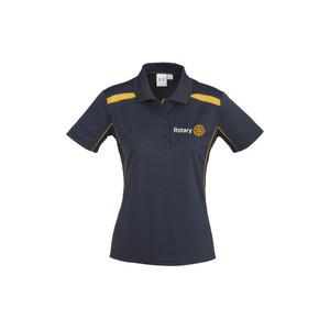Rotary United Ladies Polo Shirt