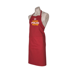 End Polio Now Apron