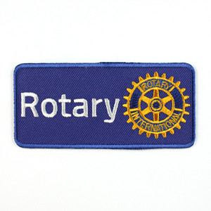 Rotary Masterbrand Embroidered Cloth Badge
