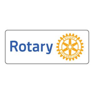 Rotary 80mm Masterbrand Rectangular Sticker