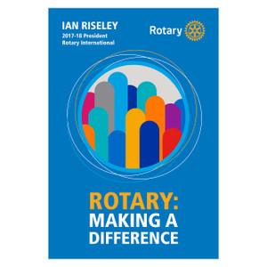Rotary 2017-18 Theme Podium Banner