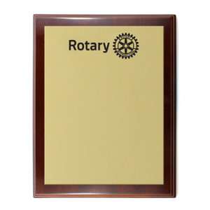 Custom Rotary Plaque (Large)