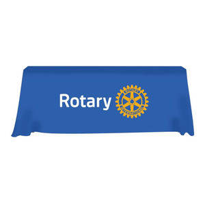 Rotary Tablecloth with Club Name