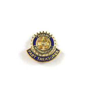Rotary Past Treasurer Lapel Pin