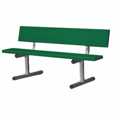 Aluminum Courtside Bench