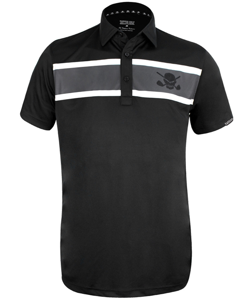 The new Clubhouse, combining a subtle design with ProCool fabric technology to make this men's golf shirt a go-to winner!  Available in sizes small through 4XL and in colors white, black, and charcoal.