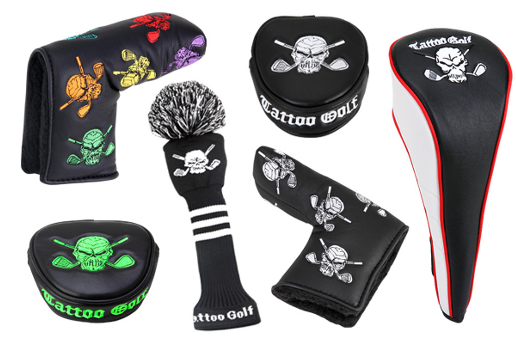 Golf Putter Covers from Tattoo Golf Clothing