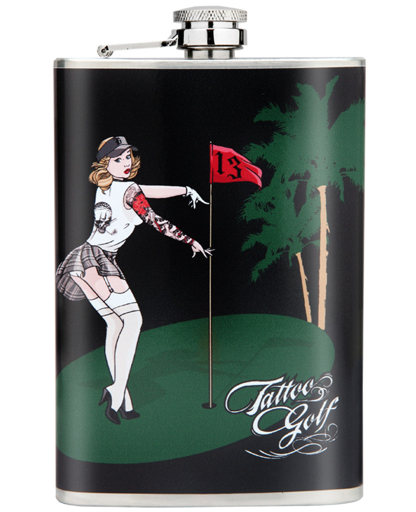 Flasks from Tattoo Golf Clothing