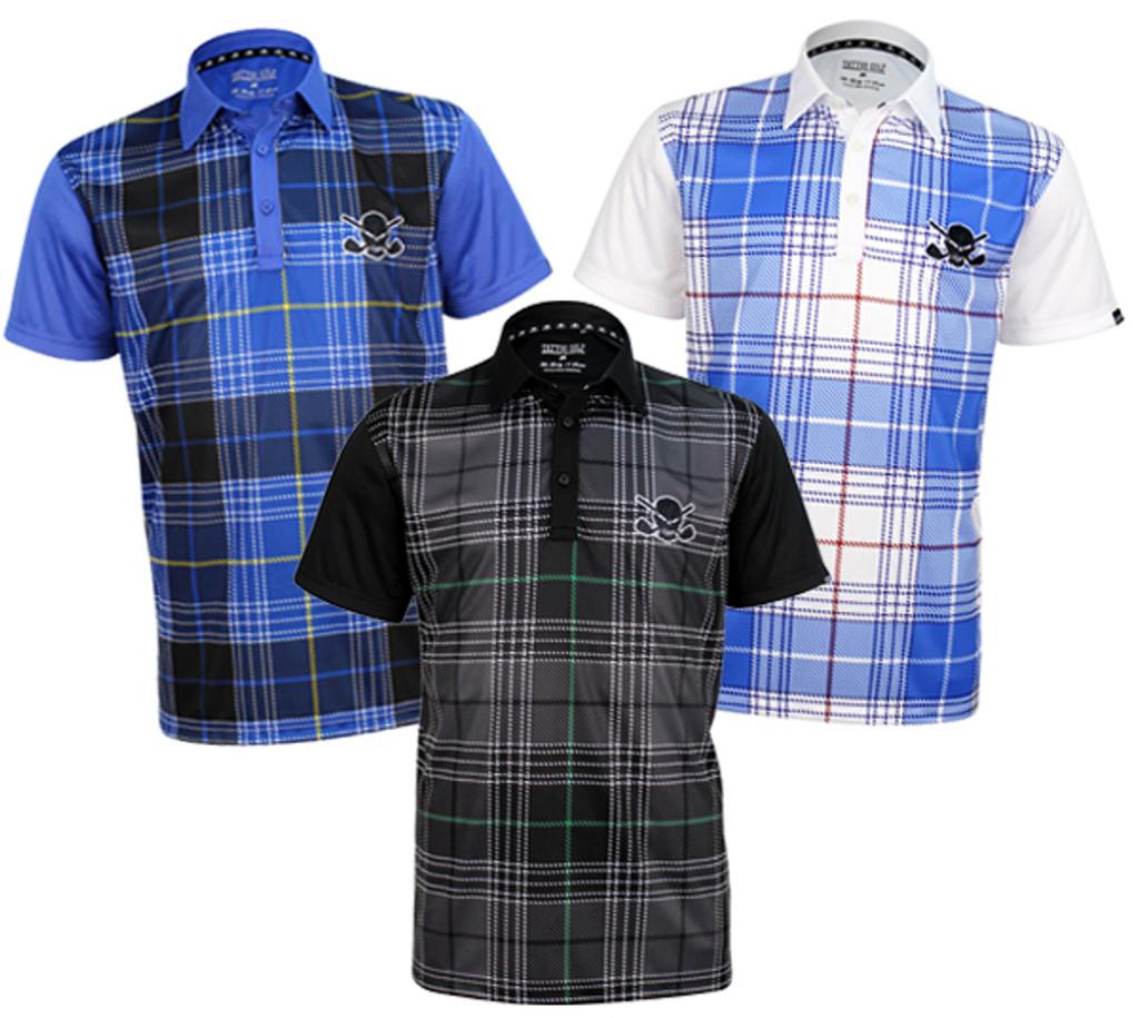 New Hazard Plaid Golf Shirts - Pre-Order Now
