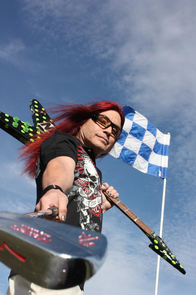 Rock Guitarist Ronny North