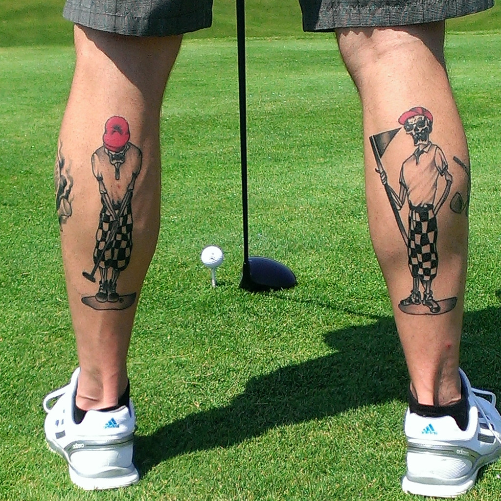 Another Cool Tattoo - Send Your Golf Tattoos