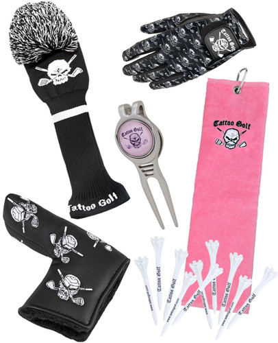 Tattoo Golf Ladies Accessories Bundle