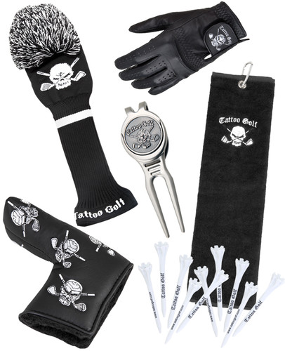 Tattoo Golf Men's Accessories Bundle