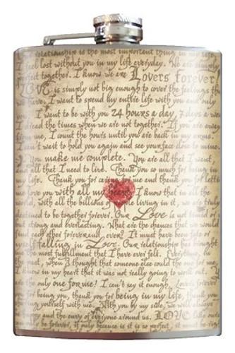 Love Letter Flask
