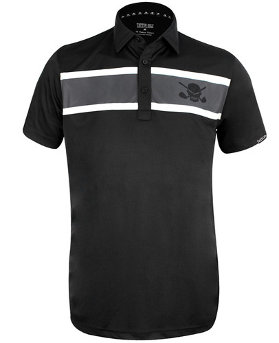 Clubhouse ProCool Men's Golf Shirt (Black)