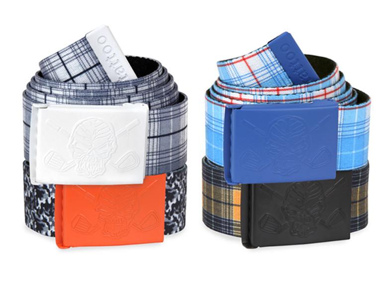 New Web Golf Belts w/ Bottle Opener (Designer Series)