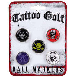 5 Ball Marker Pack