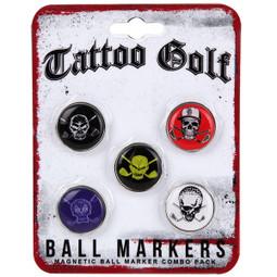 5 Ball Marker Pack