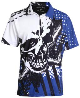 Golf Shirts Loud Crazy Wild Golf Clothing By Tattoo Golf