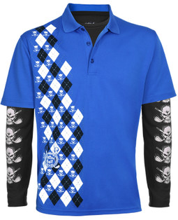 Blue Monster Men's Polo & Performance Under Shirt (Blue/Black)