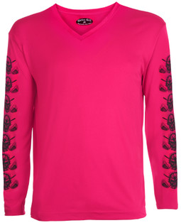 Ladies Golf Under Shirt Pink