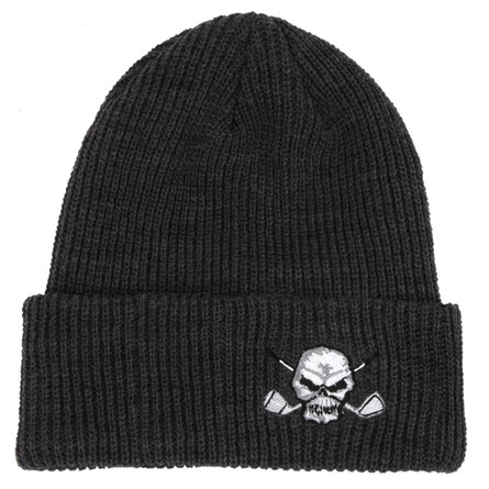 Super comfy and ultra stylish, this beanie will keep your melon warm on those chilly early morning rounds.
