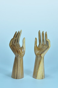 "Elite Natural 10"" Tall Hand Display"