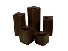 Brown Ring Block-Set of 5 sizes