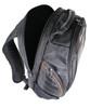 The Eclipse Solar Backpack, Black/Orange, laptop cavity