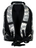 The Eclipse Solar Backpack, Camo, rear