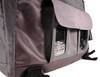 The Fusion Solar Messenger Bag, Gray/Black, pockets