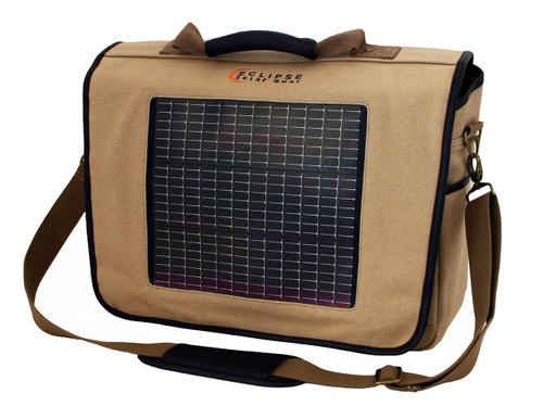 The Fusion Solar Messenger Bag, Canvas